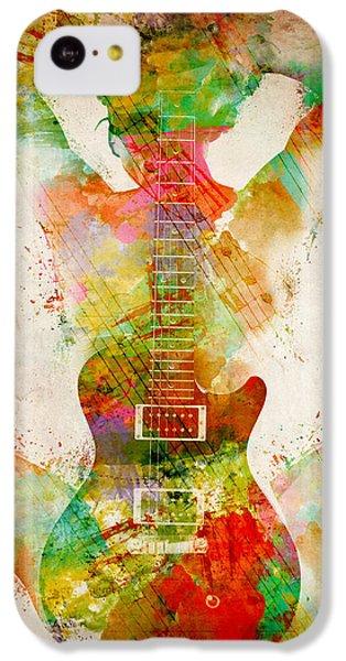 Sound iPhone 5c Case - Guitar Siren by Nikki Smith