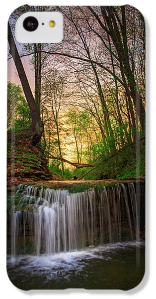 Beaver iPhone 5c Case - Gypsy Glen  Rd Waterfall  by Emmanuel Panagiotakis