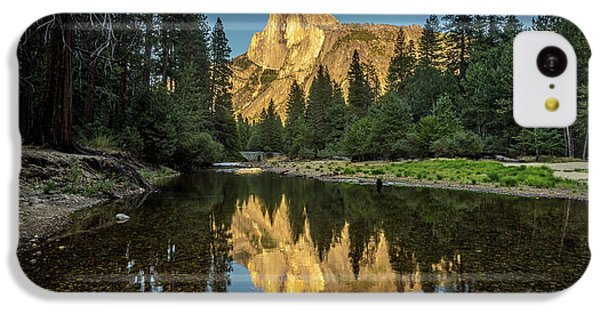 Half Dome From  The Merced IPhone 5c Case by Peter Tellone