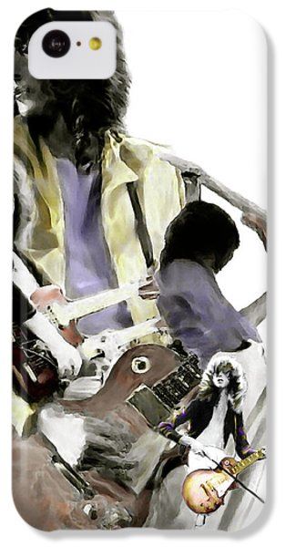 Hammer Of The Gods   Jimmy Page IPhone 5c Case by Iconic Images Art Gallery David Pucciarelli