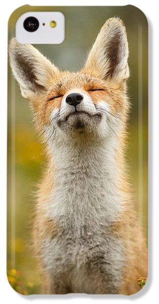 Happy Fox IPhone 5c Case