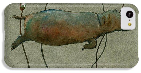 Happy Hippo Swimming IPhone 5c Case