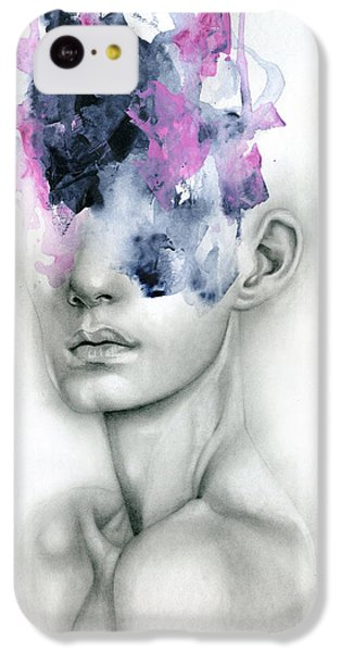 Portraits iPhone 5c Case - Harbinger by Patricia Ariel