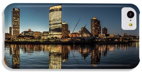 IPhone 5c Case featuring the photograph Harbor House View by Randy Scherkenbach