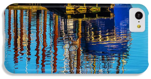 Harbor Reflections IPhone 5c Case by Garry Gay