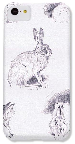 Hare Studies IPhone 5c Case