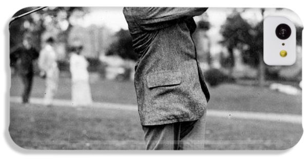 Harry Vardon - Golfer IPhone 5c Case by International  Images