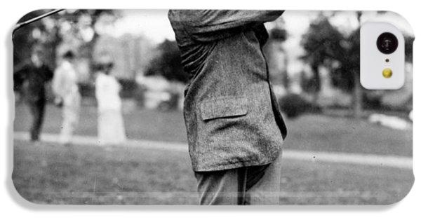 Harry Vardon - Golfer IPhone 5c Case by International  Images