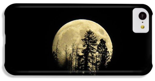 Harvest Moon IPhone 5c Case by Karen Shackles