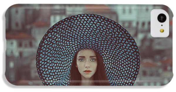 Portraits iPhone 5c Case - Hat And Houses by Anka Zhuravleva
