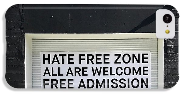Hate Free Zone IPhone 5c Case