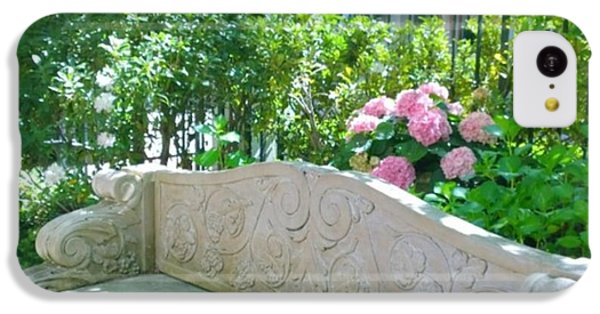 Have A Seat In My Secret Garden. #patio IPhone 5c Case