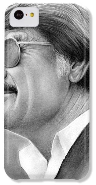 Hayden Fry IPhone 5c Case by Greg Joens