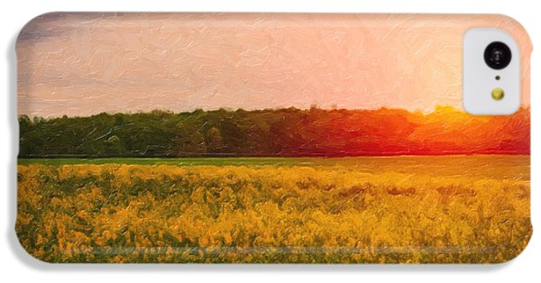 Rural Scenes iPhone 5c Case - Heartland Glow by Tom Mc Nemar