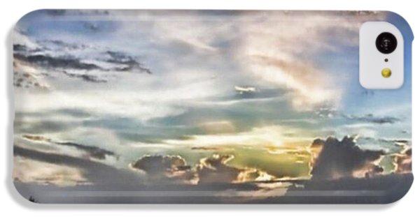 Sky iPhone 5c Case - Heaven's Light - Coyaba, Ironshore by John Edwards