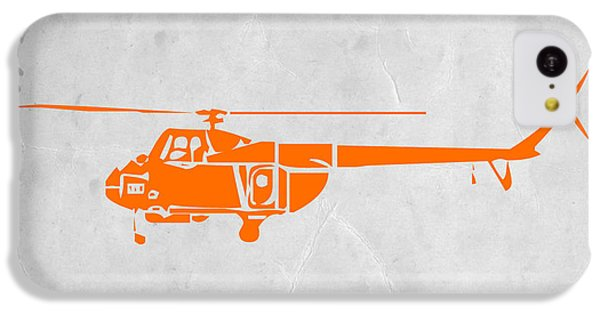 Helicopter iPhone 5c Case - Helicopter by Naxart Studio