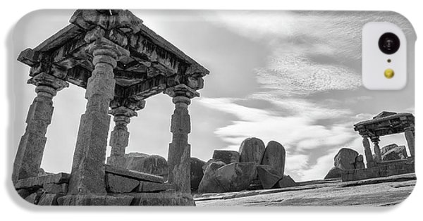IPhone 5c Case featuring the photograph Hemakuta Hill, Hampi, 2017 by Hitendra SINKAR