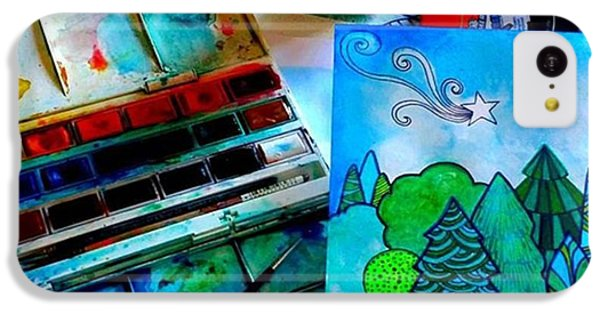 Here Is My Newest Watercolor And Ink IPhone 5c Case by Robin Mead
