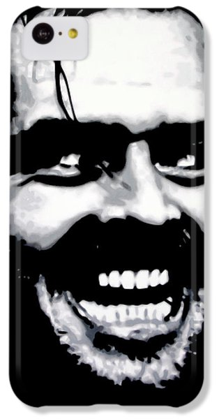Jack Nicholson iPhone 5c Case - Heres Johnny by Hood alias Ludzska