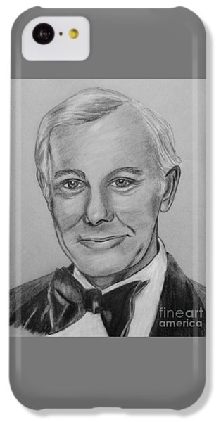 Johnny Carson iPhone 5c Case - Here's Johnny by Sharon Ackley
