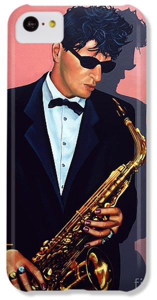 Saxophone iPhone 5c Case - Herman Brood by Paul Meijering