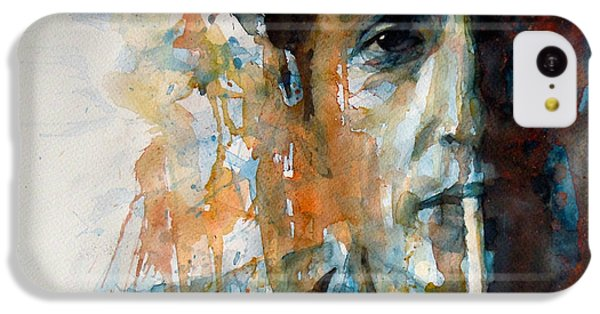 Hey Mr Tambourine Man @ Full Composition IPhone 5c Case by Paul Lovering