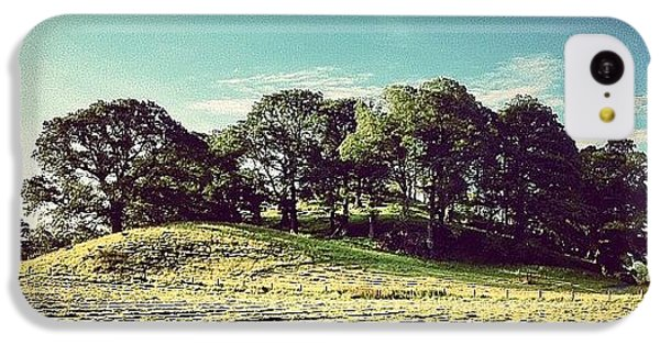 #hills #trees #landscape #beautiful IPhone 5c Case by Samuel Gunnell