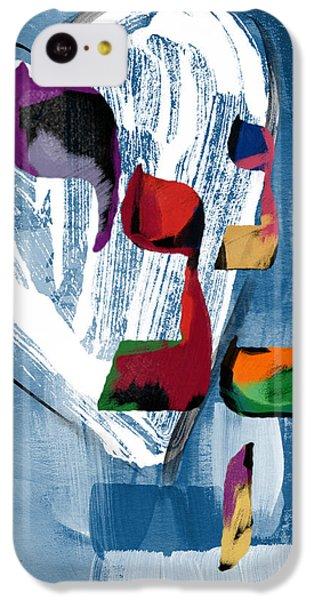 Bat iPhone 5c Case - Hineni Heart- Art By Linda Woods by Linda Woods