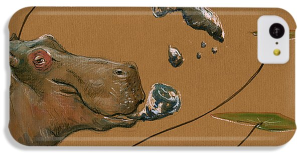 Hippo Bubbles IPhone 5c Case