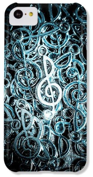 Sound iPhone 5c Case - Hitting Key Harmonics  by Jorgo Photography - Wall Art Gallery