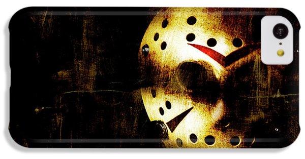 Hockey iPhone 5c Case - Hockey Mask Horror by Jorgo Photography - Wall Art Gallery