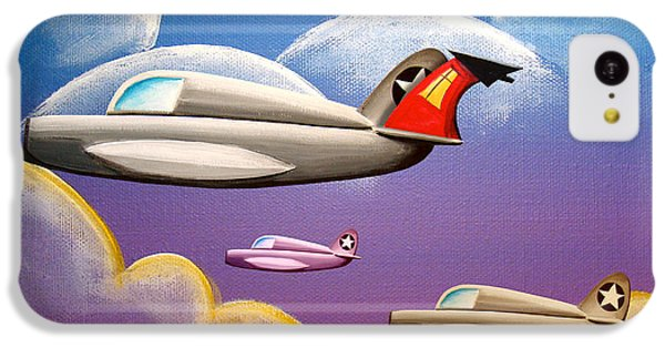 Airplane iPhone 5c Case - Hold On Tight by Cindy Thornton