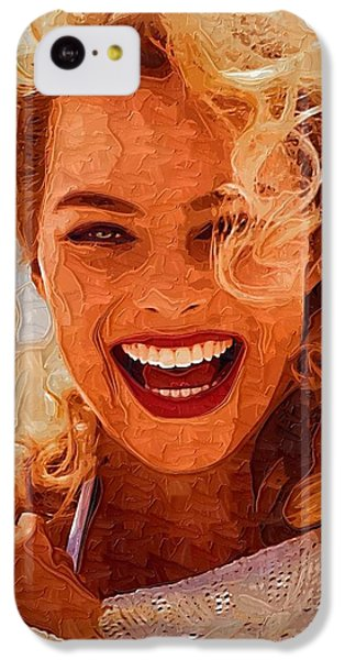 Hollywood Star Margot Robbie IPhone 5c Case by Best Actors