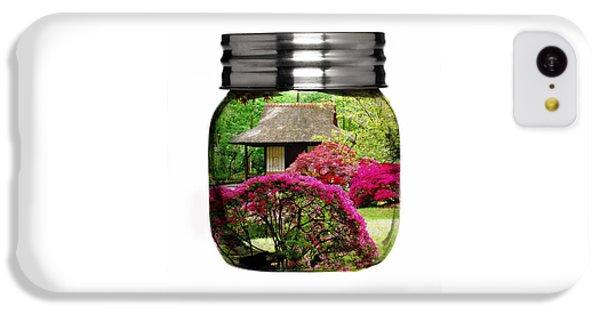 Home Flower Garden In A Glass Jar Art IPhone 5c Case