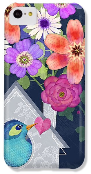 Home Is Where You Bloom IPhone 5c Case