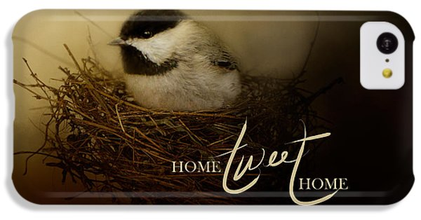 Home Tweet Home With Words IPhone 5c Case by Jai Johnson