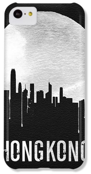 Hong Kong Skyline Black IPhone 5c Case