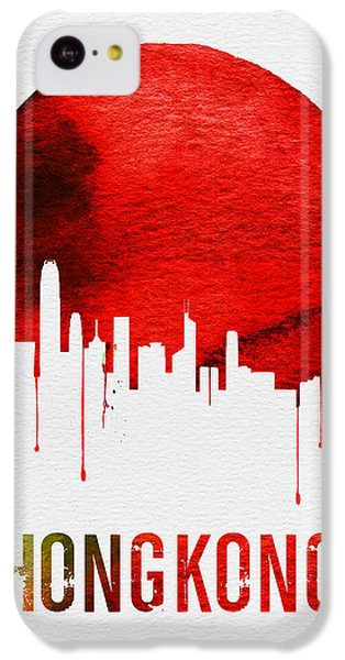 Hong Kong Skyline Red IPhone 5c Case