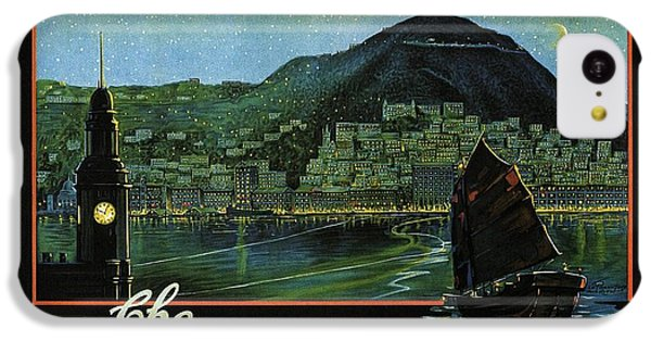 Hong Kong - The Riviera Of The Orient - Vintage Travel Poster IPhone 5c Case