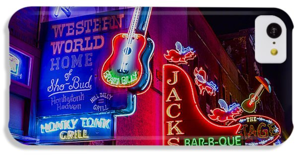 Honky Tonk Broadway IPhone 5c Case by Stephen Stookey