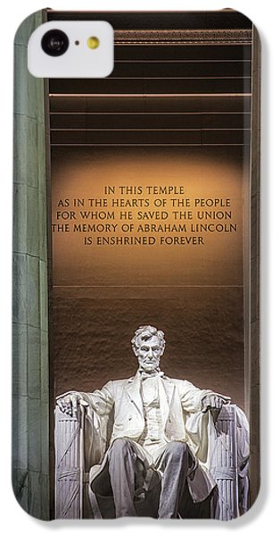 Honored For All Time IPhone 5c Case by Andrew Soundarajan