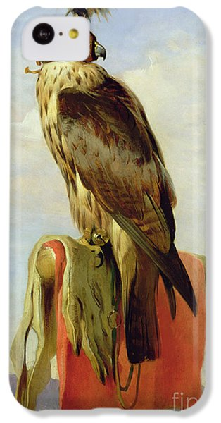Hooded Falcon IPhone 5c Case by Sir Edwin Landseer
