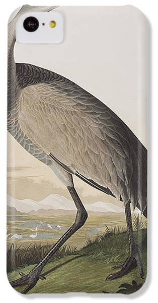 Hooping Crane IPhone 5c Case by John James Audubon