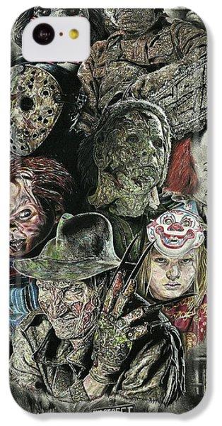 Horror Movie Murderers IPhone 5c Case