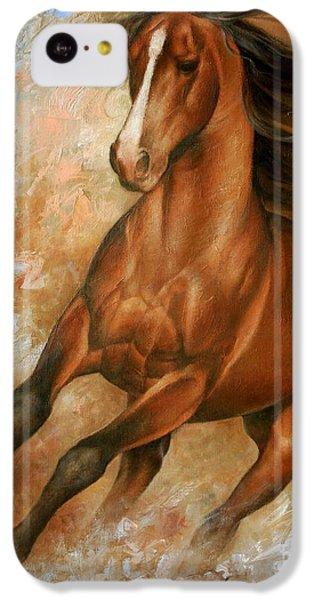 Animal iPhone 5c Case - Horse1 by Arthur Braginsky