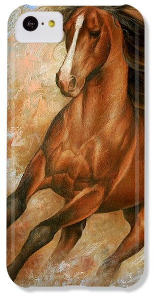Horse iPhone 5c Case - Horse1 by Arthur Braginsky