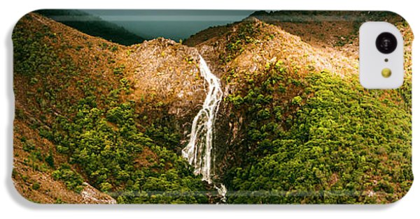 Horsetail Falls In Queenstown Tasmania IPhone 5c Case by Jorgo Photography - Wall Art Gallery