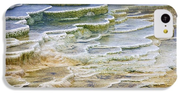 IPhone 5c Case featuring the photograph Hot Springs Runoff by Gary Lengyel