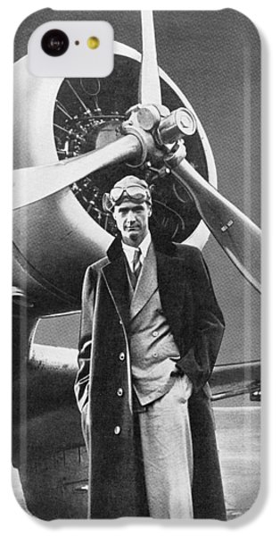 White iPhone 5c Case - Howard Hughes, Us Aviation Pioneer by Science, Industry & Business Librarynew York Public Library