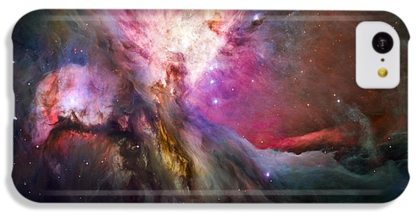 Aliens iPhone 5c Case - Hubble's Sharpest View Of The Orion Nebula by Adam Romanowicz